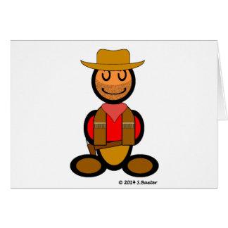 Cowboy (plain) card