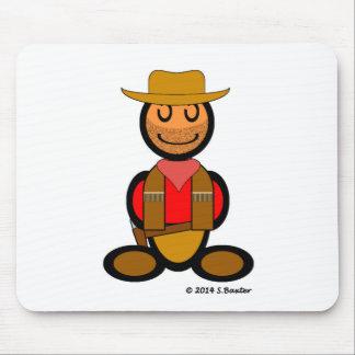 Cowboy (plain) mouse pad