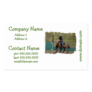 Cowboy Polo Business Cards
