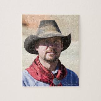 Cowboy portrait jigsaw puzzle