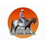 cowboy post card