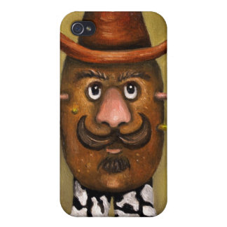 Cowboy Potato iPhone 4/4S Cases