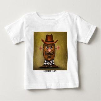 cowboy potato shirt