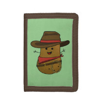 Cowboy Potato Trifold Wallet
