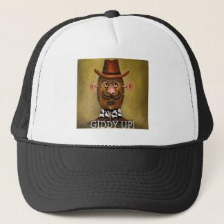 cowboy potato trucker hat