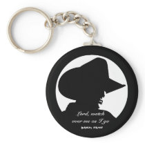 Cowboy Prayer Keychain