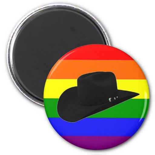 Cowboy Pride 2 Inch Round Magnet