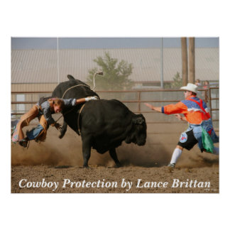 Cowboy Protection Posters