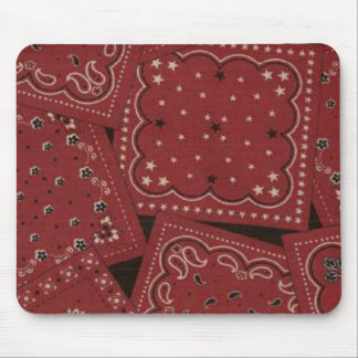 Cowboy Red Bandana Mousepad