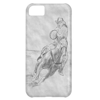 Cowboy Riding Cover For iPhone 5C