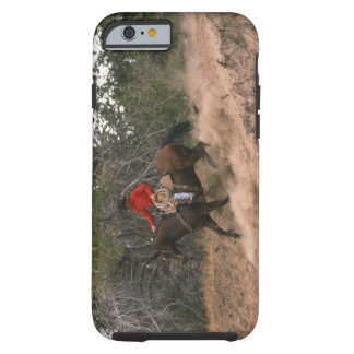 Cowboy riding downhill tough iPhone 6 case