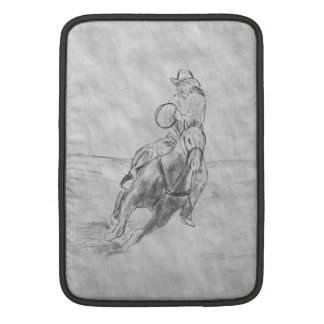 Cowboy Riding Sleeve For MacBook Air