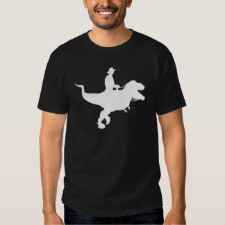 Cowboy Riding T-Rex T-shirt