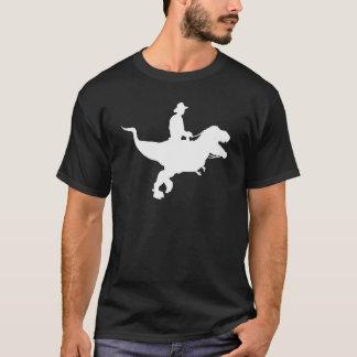 Cowboy Riding T-Rex T-shirt