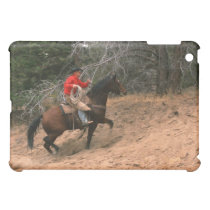 Cowboy riding uphill cover for the iPad mini