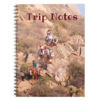 Cowboy Road Trip Notebook