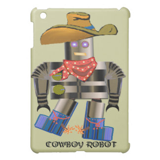 Cowboy Robot Cover For The iPad Mini