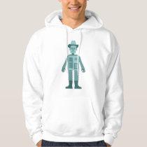 Cowboy Robot Hoodie
