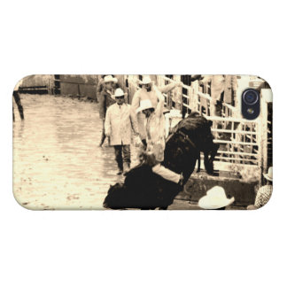 Cowboy Rodeo iPhone 4 Cover