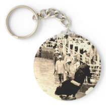 Cowboy Rodeo Keychain