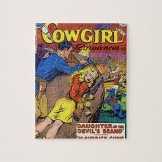 Cowboy Romances Jigsaw Puzzle