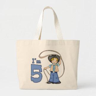 Cowboy Roper 5th Birthday Bags