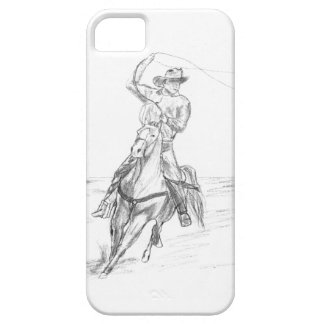 Cowboy Roping iPhone 5 Covers