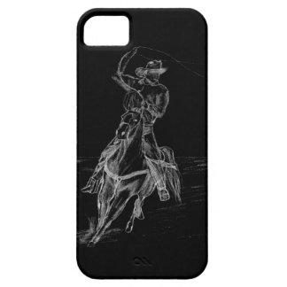 Cowboy Roping iPhone SE/5/5s Case