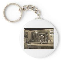 Cowboy Saloon Keychain
