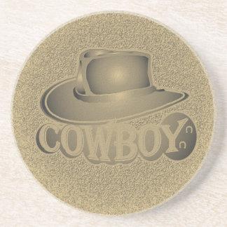 Cowboy! Sandstone Coaster