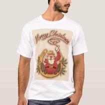 Cowboy Santa Claus T-Shirt