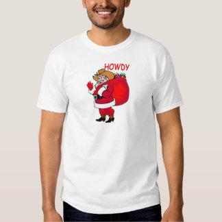 Cowboy Santa T-Shirt