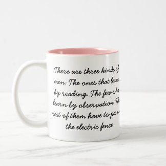 COWBOY SAYINGS COFFEE MUG