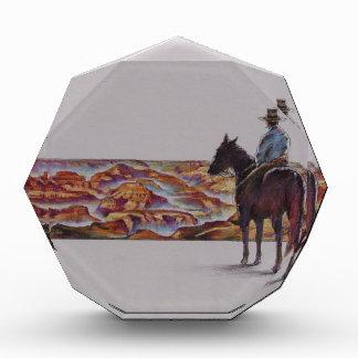 Cowboy Scenic,,, Home On The Range Acrylic Award