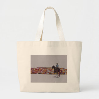 Cowboy Scenic,,, Home On The Range Tote Bags