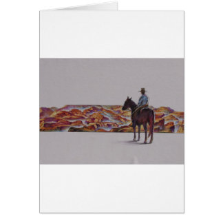 Cowboy Scenic,,, Home On The Range Greeting Cards