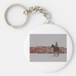 Cowboy Scenic,,, Home On The Range Key Chains