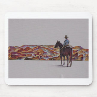 Cowboy Scenic,,, Home On The Range Mouse Pad