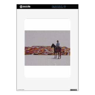 Cowboy Scenic,,, Home On The Range iPad Skins