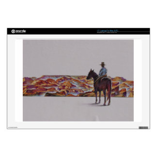 Cowboy Scenic,,, Home On The Range Laptop Decals