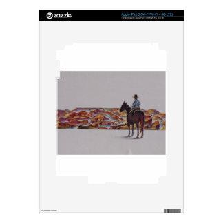 Cowboy Scenic,,, Home On The Range iPad 3 Skin