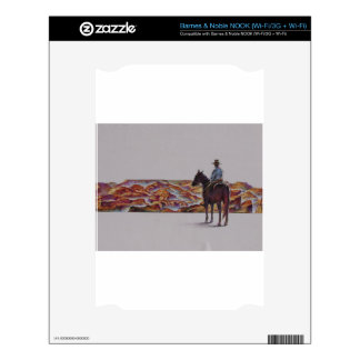 Cowboy Scenic,,, Home On The Range Skin For The NOOK