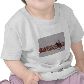 Cowboy Scenic,,, Home On The Range Tee Shirt
