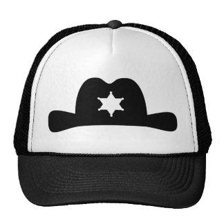 Cowboy sheriff hat