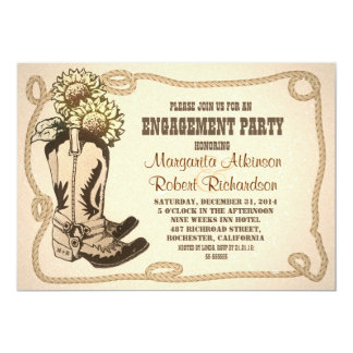 cowboy party invitations  announcements  zazzle, invitation samples