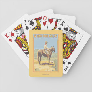 Cowboy (Side View)New Mexico Playing Cards