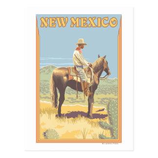 Cowboy (Side View)New Mexico Postcard