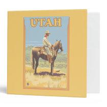 Cowboy (Side View)Utah Binder