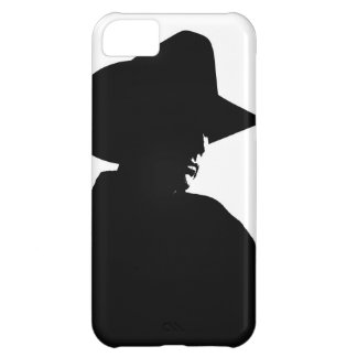 Cowboy Silhouette Cover For iPhone 5C