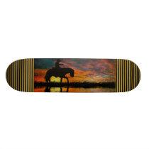 Cowboy Skateboard